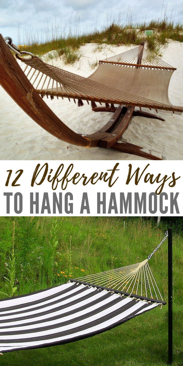 12 Different Eyeliner Tutorials To Switch Up Your Look: 12 Different Ways To Hang A Hammock