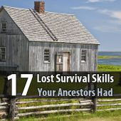 17 Lost Survival Skills Your Ancestors Had