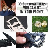 33 Survival Items You Can Fit In Your Pocket