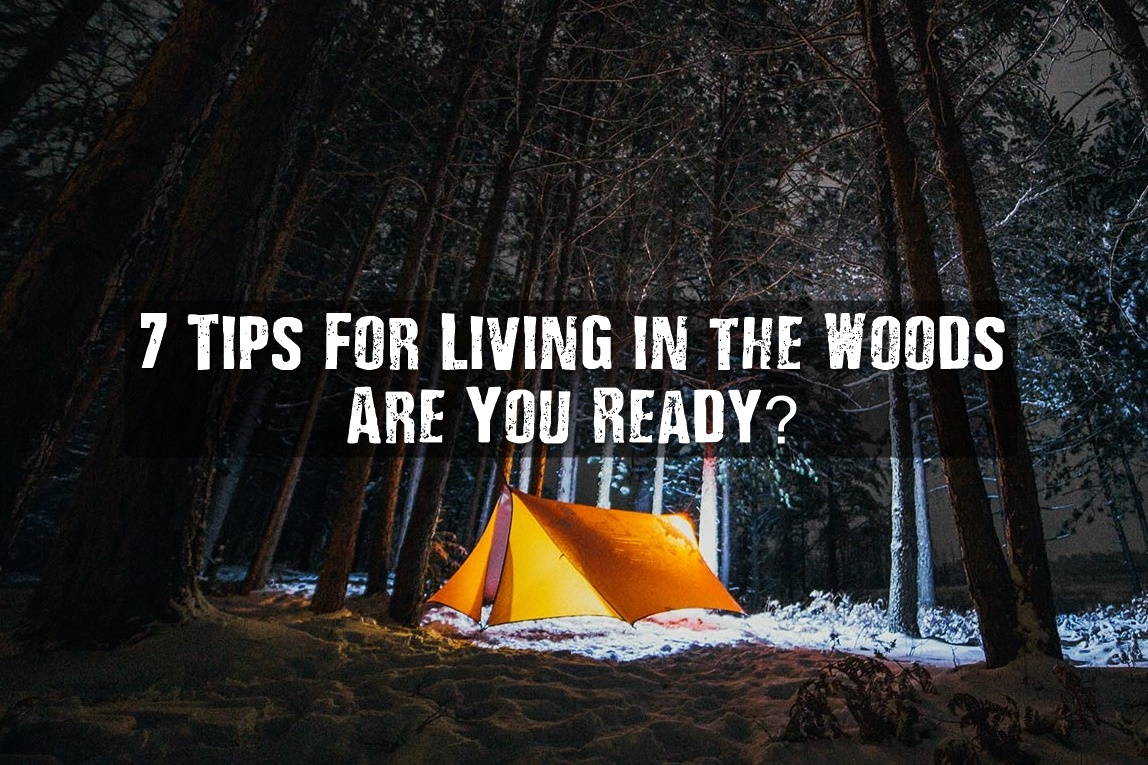 7 tips for living in the woods are you ready. Black Bedroom Furniture Sets. Home Design Ideas