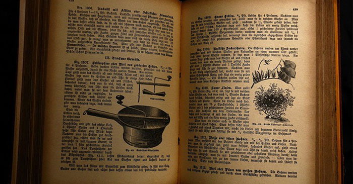 8 Reasons Old Cookbooks Are Important - There are distinct advantages to having older cookbooks as part of your preps or homestead kitchen shelf. A cookbook from the 1950s is not likely to have instructions to use a microwave. They used simple tools: a mixing bowl, a cast iron skillet, and a good sharp knife. In a disaster scenario, being able to make food from scratch is an invaluable skill to have. Most people today have very little knowledge of how to make many of the foods they eat.