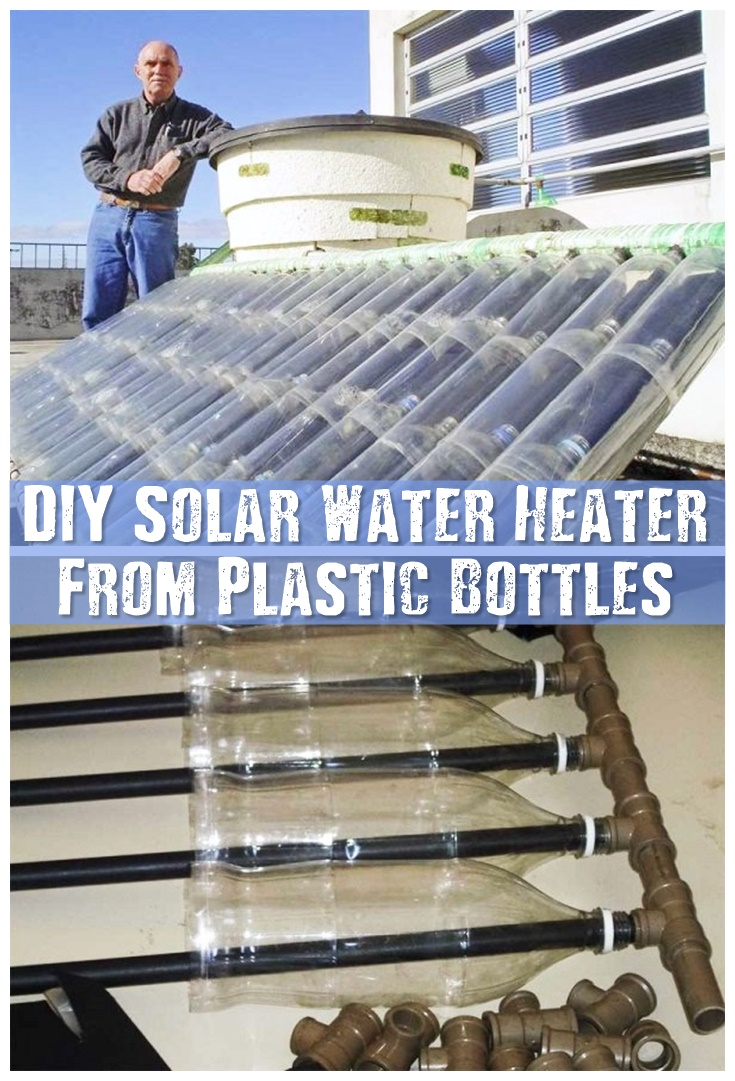 Diy Solar Water Heater From Plastic Bottles Shtf