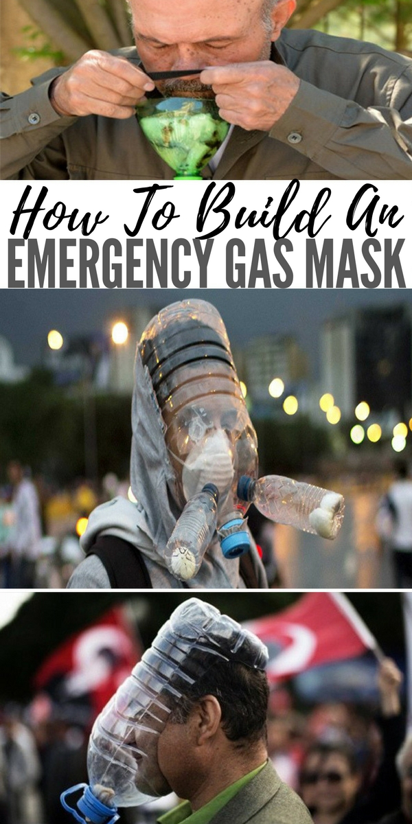 How To Build An Emergency Gas Mask - preparedness