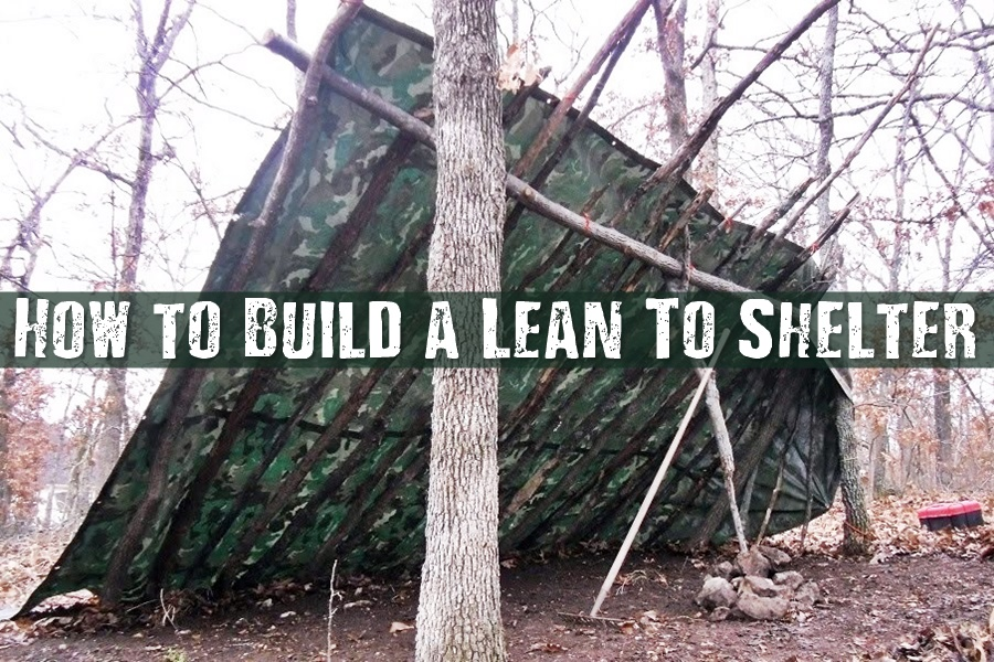 Shtf Shelter: How To Build A Lean To Shelter