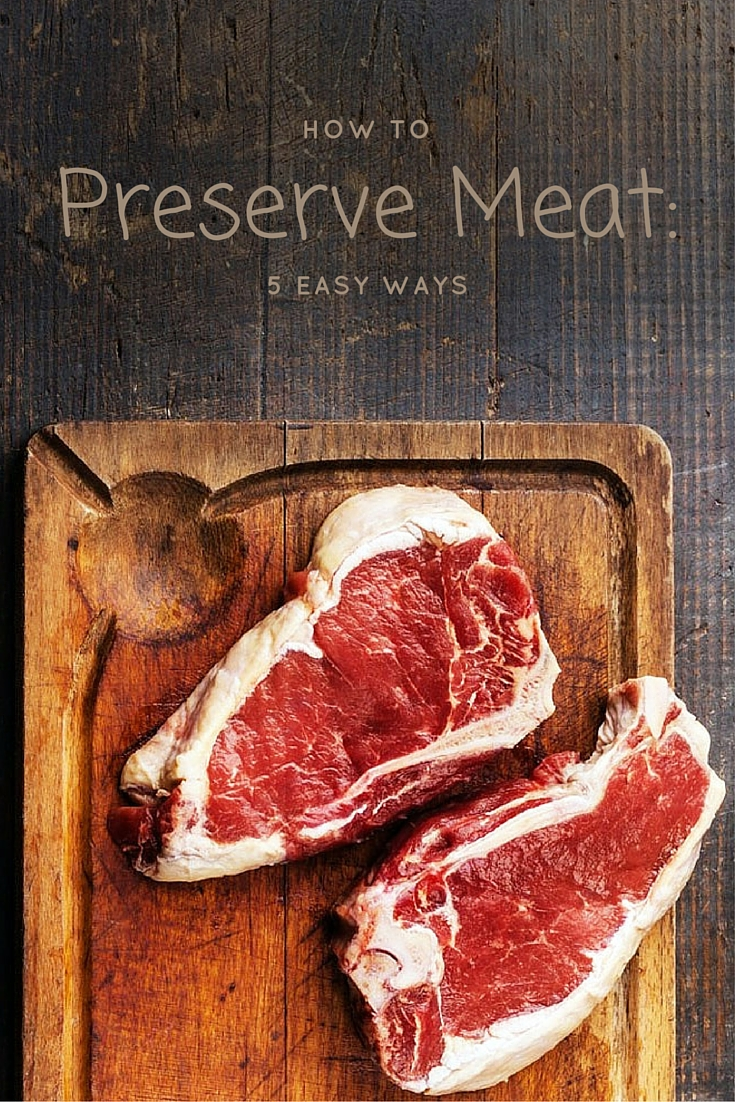 Meat doesn't have a very long lifespan. If left out in the open, it will deteriorate in quality very quickly, essentially becoming useless. There are a few different techniques for preserving meat, so you can make it last much longer without going bad.