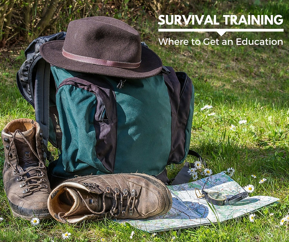 Survival Training – Where to Get an Education - When most people think of education, they imagine a classroom setting with a teacher lecturing at them in front of a chalkboard. But did you know that it's possible to get an education in survival? Believe it or not, there are schools that will give you real college credits for attending their schools.