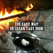 The Easy Way to Clean Cast Iron