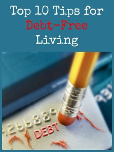 The Top 10 Tips for Debt-Free Living - Debt is something the vast majority of the population deals with on a daily basis. In our consumer culture, with credit offers everywhere, it can be easy to get yourself in serious trouble. Taking smaller steps and resisting the urge to buy 'little' things will help you gradually ease into a more frugal lifestyle.
