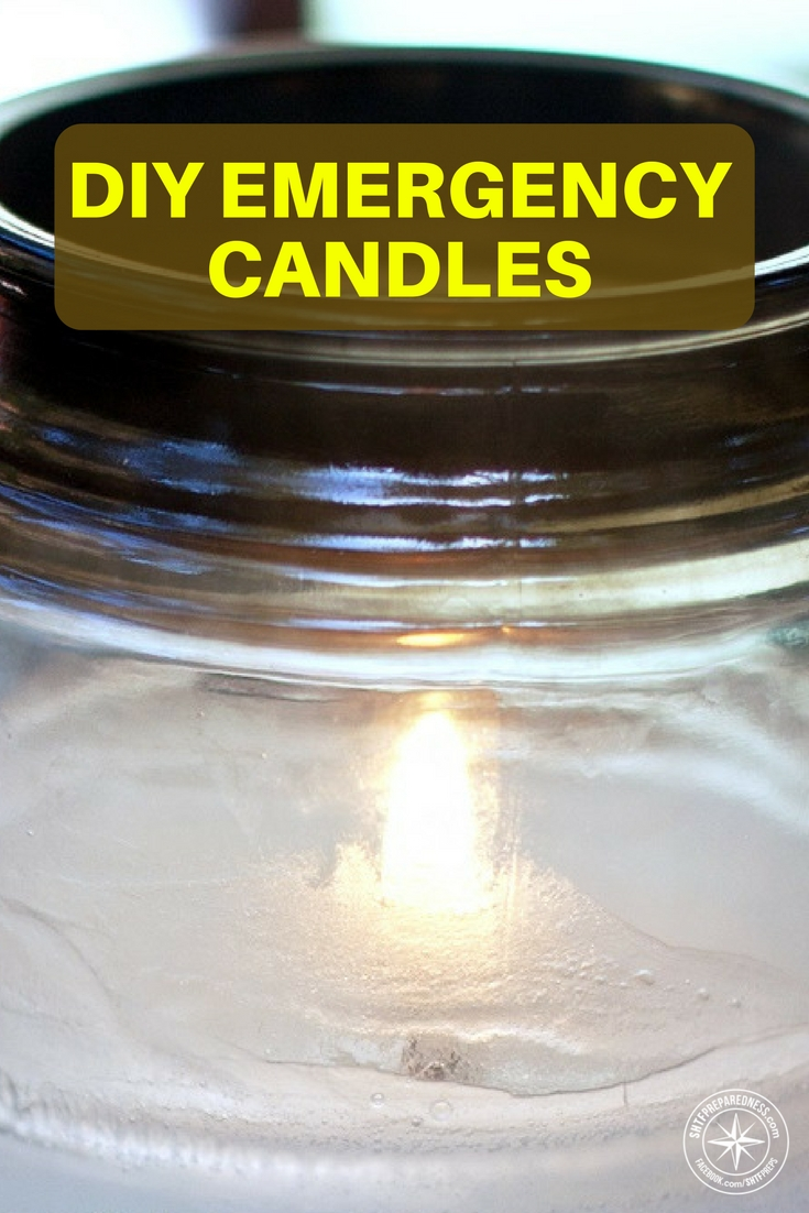 Diy Emergency 100 Hour Candles For 1 Each