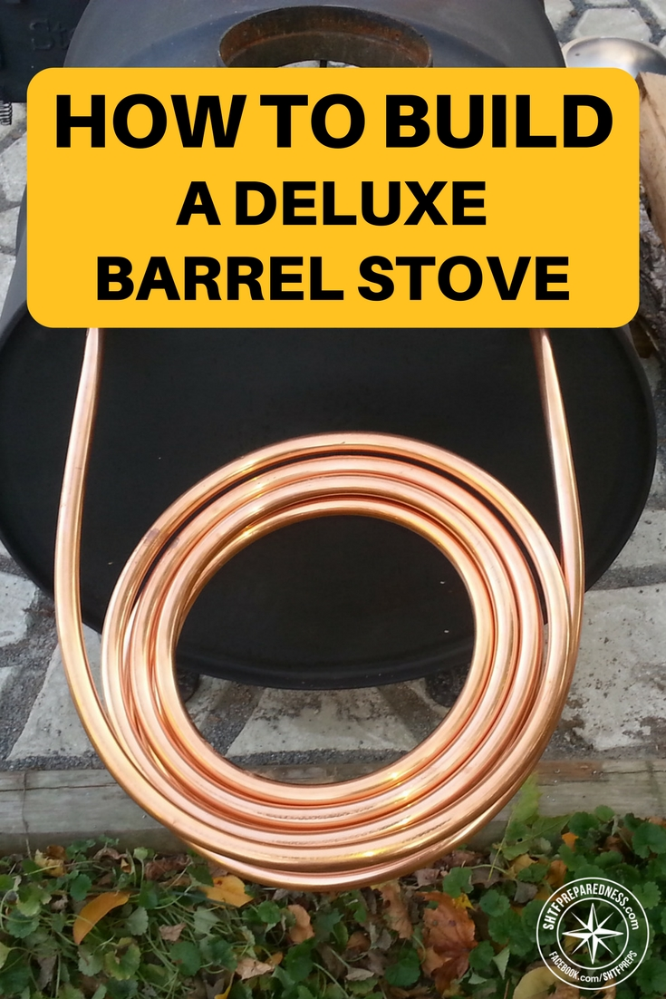 How to build a deluxe barrel stove for How to make a stove
