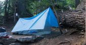How To Build A Survival Tarp Shelter In 2 Minutes - I personally have 2 tarps. One in my bug out bag and one in my car, I purchased this tarp from amazon and only cost me 13 bucks. It is 9ft by 12ft but you can always get a smaller or a bugger tarp depending on your needs