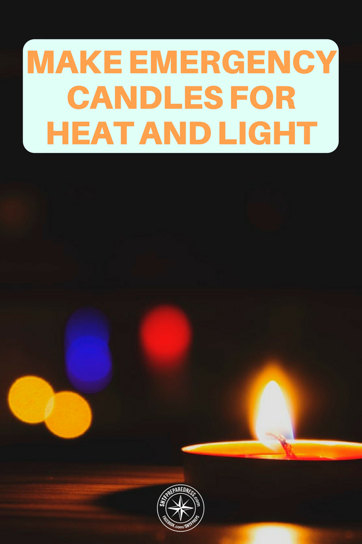 How to Make Emergency Candles for Heat and Light - There are many different ways to light your home when the power goes out, but candles are my favorite because you can also use them for heat. Lots of them will help warm a small room in the wintertime, or you could use them in an emergency stove.