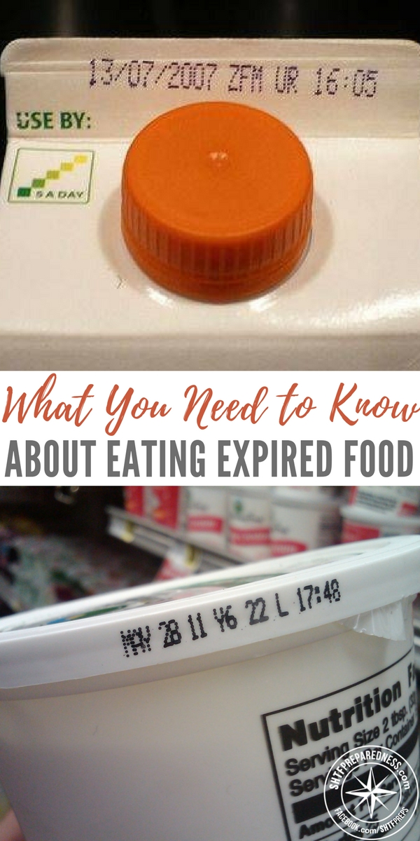 What You Need To Know About Eating Expired Food