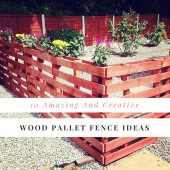 10 Amazing And Creative Wood Pallet Fence Ideas - If you want a cheap, good looking fence, a pallet fence is for you. They are strong, often great strong hard wood and best of all free or at the most a few dollars per pallet.