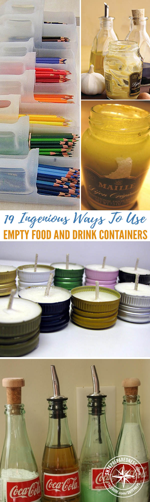 19 Ingenious Ways To Use Empty Food And Drink Containers : drink storage containers  - Aquiesqueretaro.Com