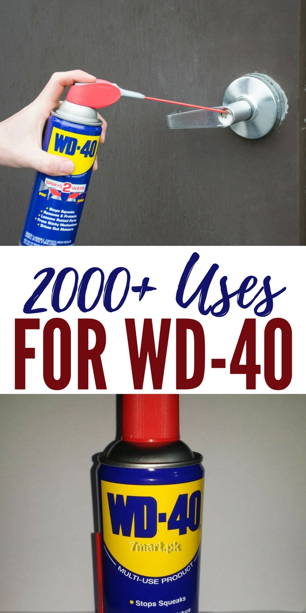 2000 uses for wd 40. Black Bedroom Furniture Sets. Home Design Ideas