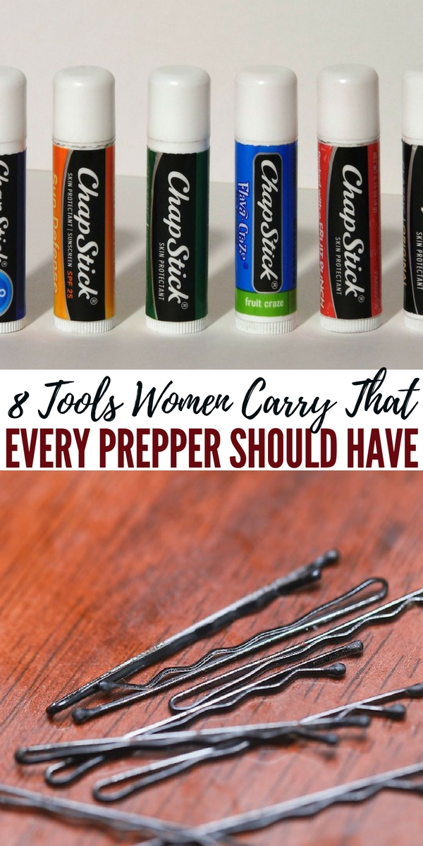 8 Tools Women Carry That Every Prepper Should Have - While it may be hard for a man to explain why he has lotion, a makeup mirror, and a tampon in his bug out bag, the utility of those items is hard to deny. He would also be prepared for everyday situations which may call for the use of those. Swallowing a little bit of pride to be able to come to someone's aid or having an extra tool at your disposal may be worth it.