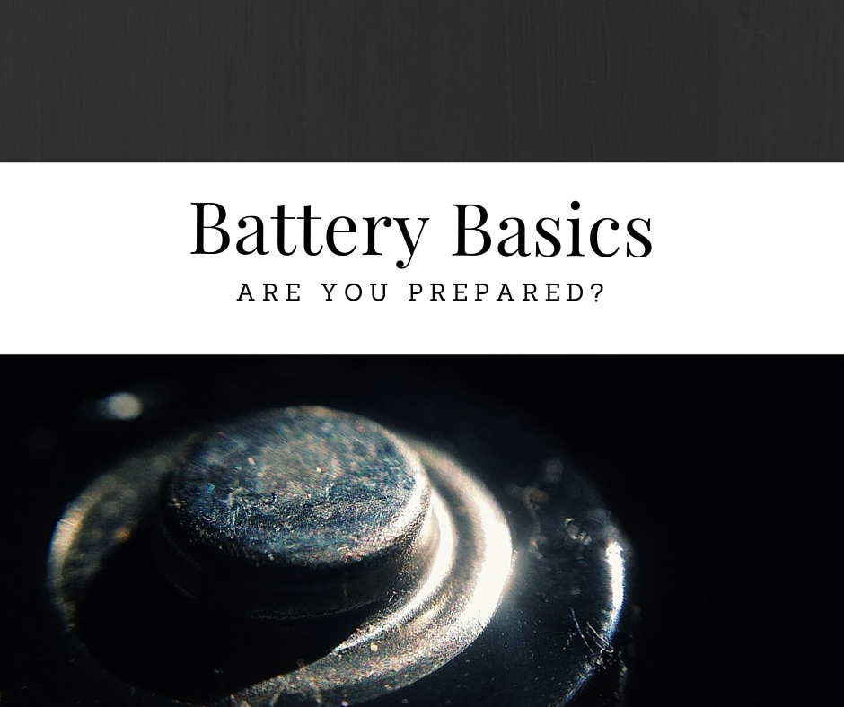 Battery Basics, Everything You Need To Know When Prepping - Batteries are vital for many of us who wish to maintain some sort of normalcy in the event of an emergency. During a mass emergency such as a hurricane or blizzard, batteries are one of the first items to fly off store shelves.