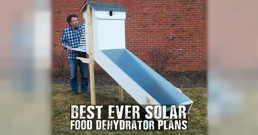 Best-Ever Solar Food Dehydrator Plans - This solar food dehydrator can dry lots of food in one big batch. Save you money and give you a good feeling of being self sufficient. Images by motherearthnews.com