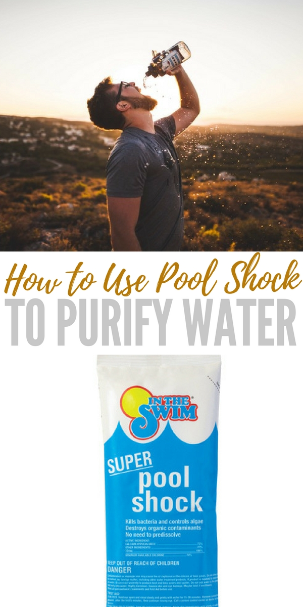 How to use pool shock to purify water - How long after you shock a pool can you swim ...