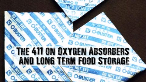 The 411 on Oxygen Absorbers And Long Term Food Storage