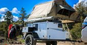 Turtleback Trailer Feeds, Cleans and Shelters You Off Grid - There is plenty of storage and a few areas you could install solar panels and have a great source of electricity to power you gadgets and cell phones. I would absolutely love to own one of these turtleback trailers.