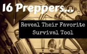 """What's the Best Survival Tool - One of the questions we get most often is, """"What's the best survival tool and why?"""" To get to the bottom of this, we asked 16 preppers/survivalists what they thought the best survival tool was."""