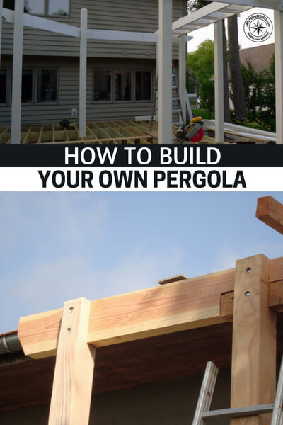 How To Build Your Own Pergola (and Save Thousands!) - This article provides 4 great step-by-stepguides so you canmake your own pergola and establishyour garden area as the focal point of your back yard. I recommend adding a seating area toenjoy your garden and the quiet relaxation.