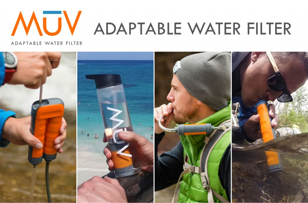 MUV - Adaptable water filter