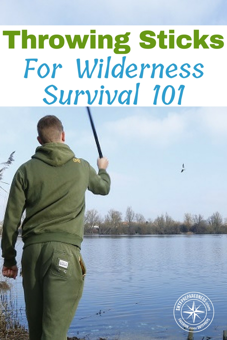 Throwing Sticks For Wilderness Survival 101