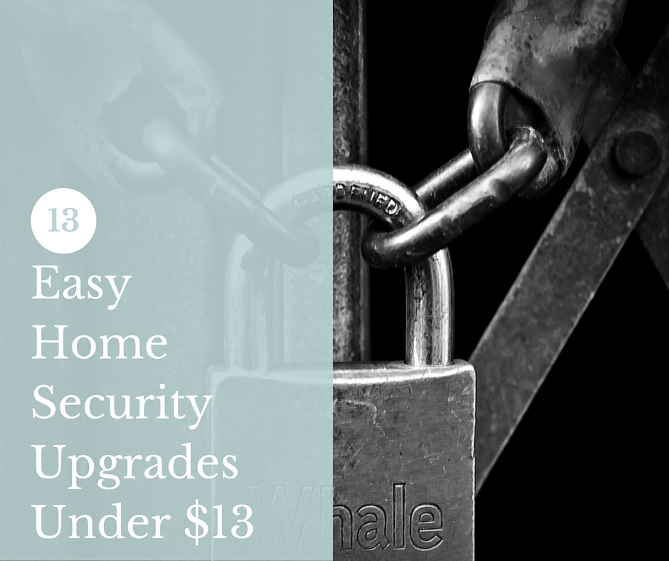 13 Easy Home Security Upgrades Under $13 - Dealing with intruders once they have entered your house is an important thing to prepare for, but you can do more than hope for the best and prepare for the worst. You can change your odds by reducing your chances for intrusion by making your house less of a target and less accessible.