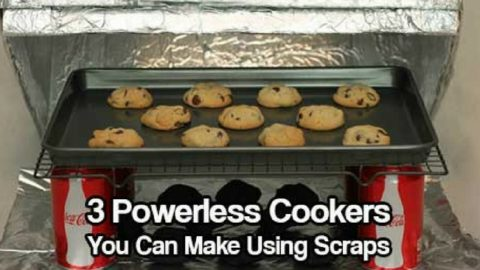 3 Powerless Cookers You Can Make Using Scraps