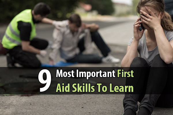 9 Most Important First Aid Skills To Learn - With some time and practice, anyone can learn CPR, the Heimlech maneuver, how to treat burns, how to make a splint, an so forth. Don't put off learning these skills any longer. During a sudden disaster, first aid is likely one of the first things you'll need to know.