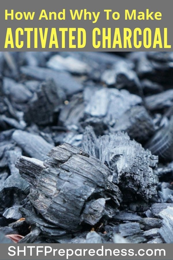 Knowing how to make activated charcoal is great knowledge to have!There are several benefits and uses of this, but the uses for survival are what we are interested in today