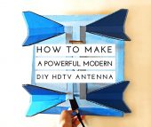How To Make a Powerful Modern DIY HDTV Antenna - Save a ton of money year over year by building your own HDTV antenna. Stock up on food or prepper gear with the money you save.