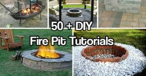 Over 50 DIY Fire Pit Tutorials — Summer is in full force now. That means it's high time to enjoy the outdoors and more importantly, your back yard. With that being said, I wanted to build a fire pit of my own and really enjoy my property this year and I stumbled upon the mother load of tutorials.