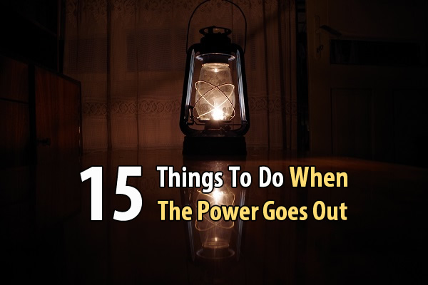 15 Things To Do When The Power Goes Out - What's the first thing you do when the power goes out? Most people fumble around looking for candles, flipping light switches out of habit, and praying the outage won't last too long. But if you're prepared, the next power outage won't be something to panic about.