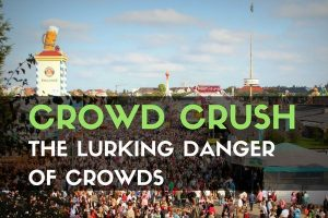 Crowd Crush: The Lurking Danger of Crowds - It is not news that large crowds can be dangerous, but did you know that the density of the crowd could be more dangerous than the size?