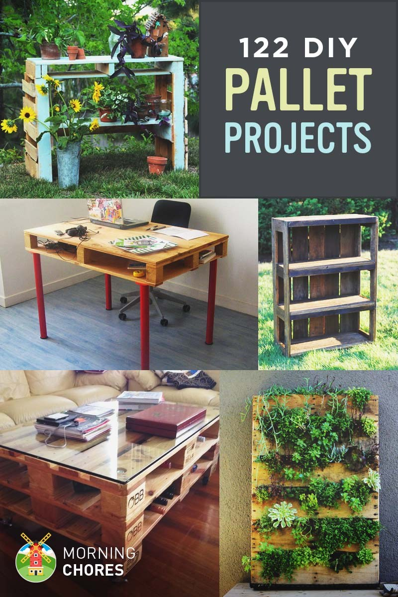 122 DIY Recycled Wooden Pallet Project Ideas SHTF