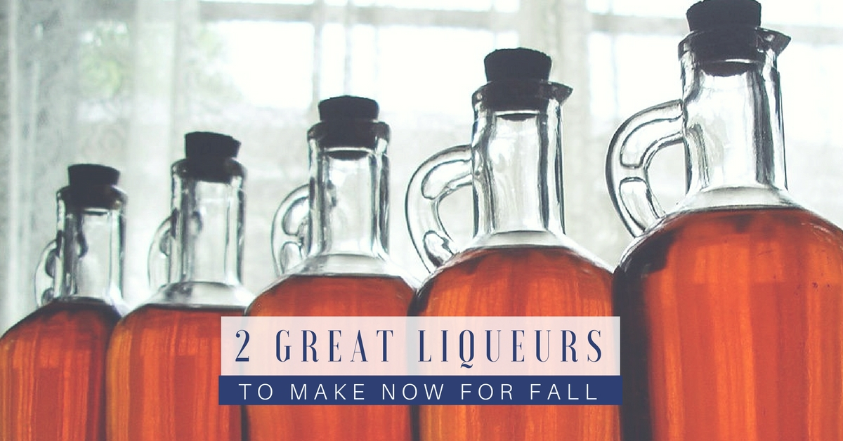 2 Great Liqueurs to Make Now for Fall - This is a great skill to know and master for a SHTF situation as alcohol could be used for barter; and naturally, entertainment.