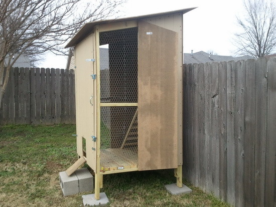 How To Build a Backyard Chicken Coop for under $250