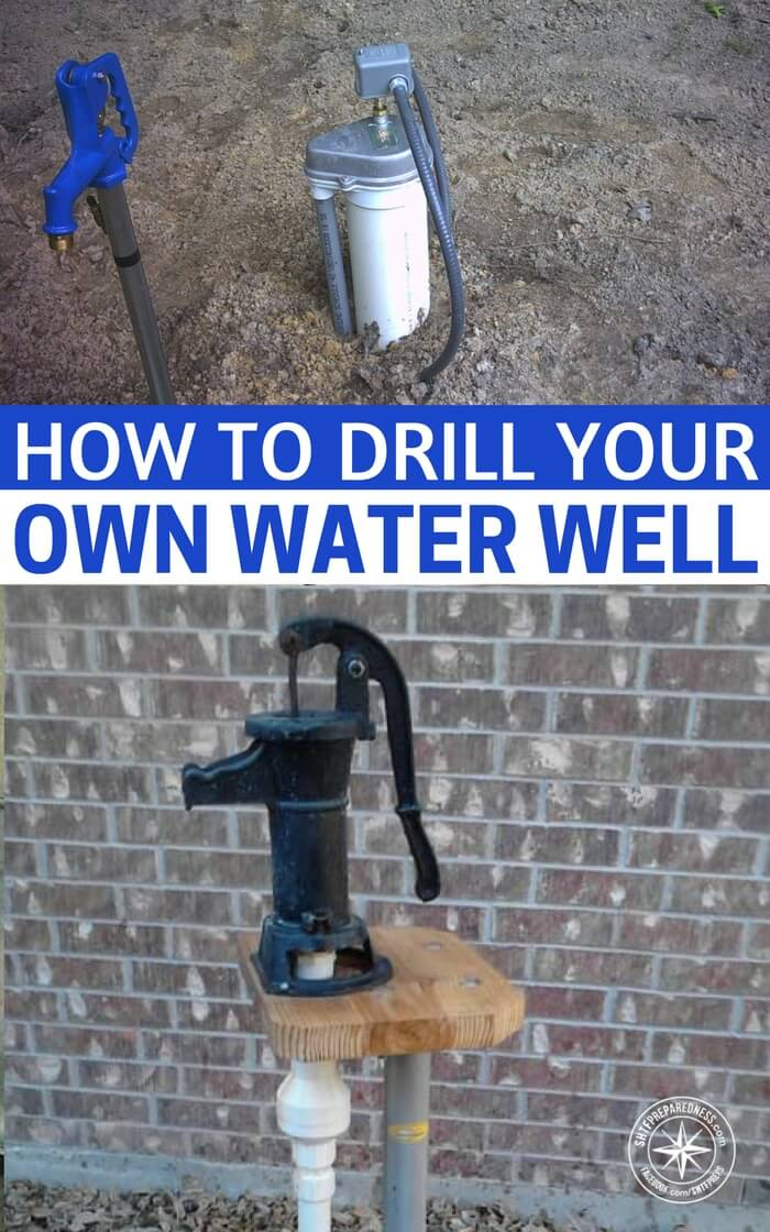 How To Drill Your Own Water Well - The water well drilling methods described here work well in digging/drilling through dirt, and clay, including really hard clay.  They will not work if you need to drill through rock but, if the area you live in is flat or relatively flat, it is definitely worth a try.  Many folks think they have to dig or drill their well into an aquifer.  For irrigation and lawn watering, reaching an aquifer isn't necessary.