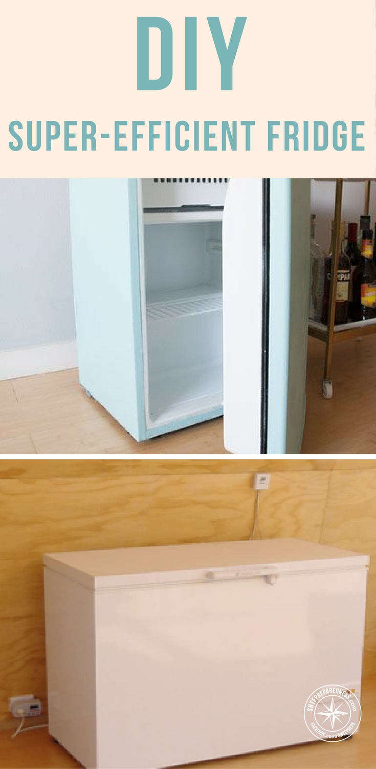 How To Turn An Old Chest Freezer Into An Extremely Energy