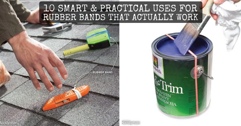 10 Smart Amp Practical Uses For Rubber Bands That Actually