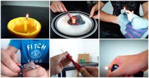 Compilation of 10 Survival Life Hacks - This is a great list of survival tips that will help you 'MacGyver' yourself out of some sticky situations.