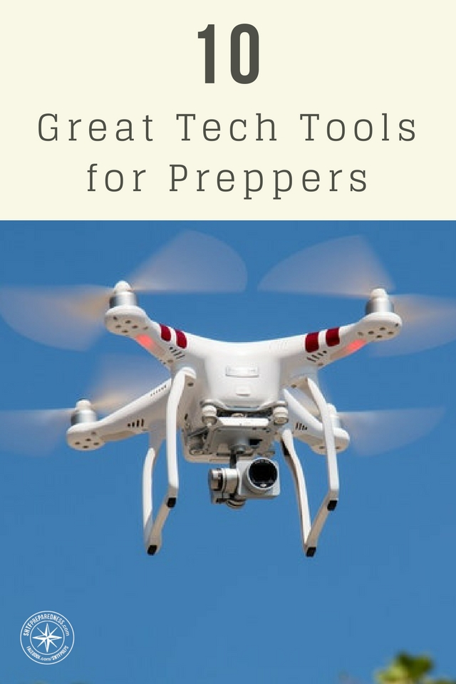10 Great Tech Tools for Preppers - New technology is being developed each and every day, and it has affected how we can prepare for SHTF situations. These tech tools that made the list are all about stepping your prepping to the next level.