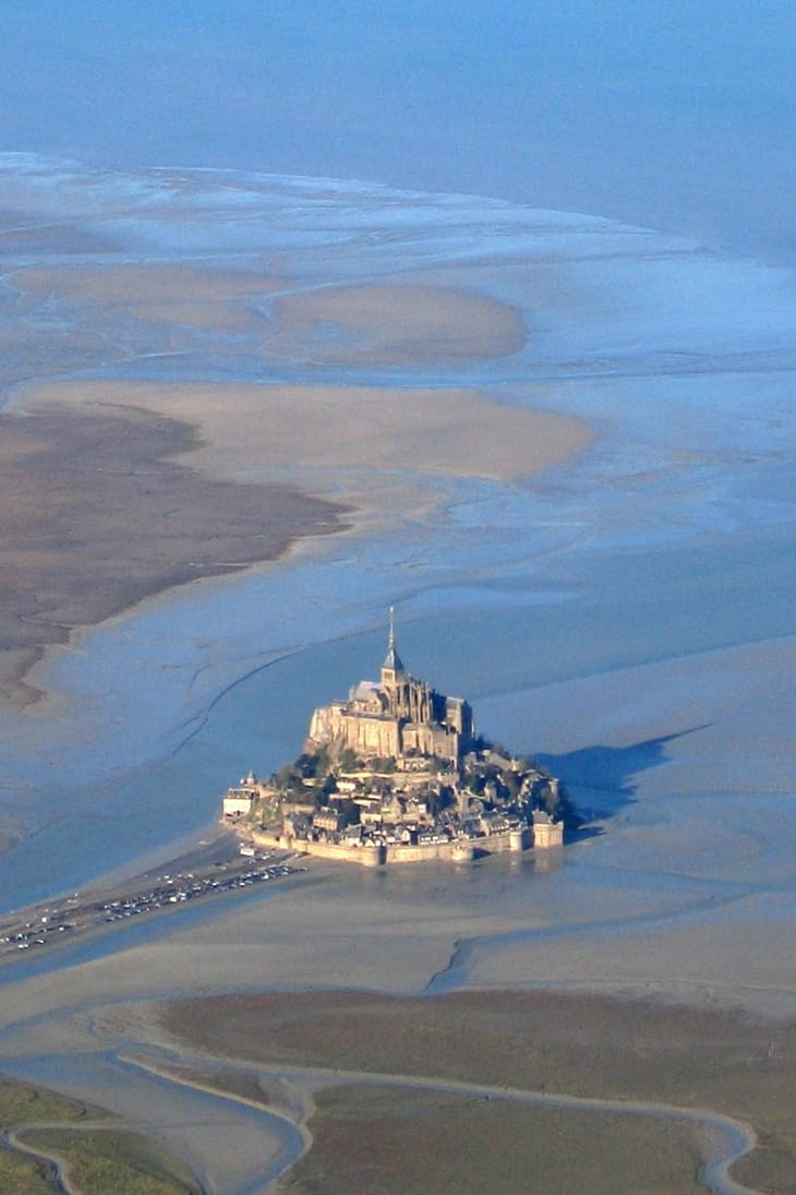 Awesome Bug Out Locations To Survive if SHTF - Mont Saint-Michel - Normandy, France