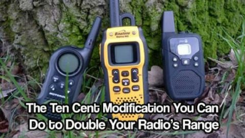 Ten Cent Modification You Can Do to Double Your Radio's Range