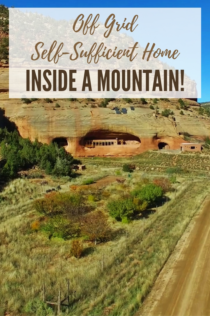 Off grid self sufficient home inside a mountain shtf for Self sufficient home designs