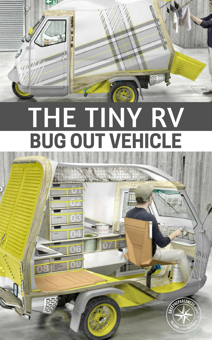 the tiny rv bug out vehicle. Black Bedroom Furniture Sets. Home Design Ideas